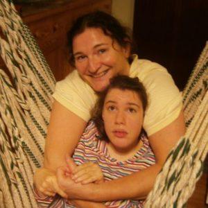 Charlotte mit Katja