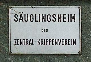 Säuglingsheim des Zentral-Krippenverein